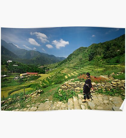 Sapa Countryside Poster