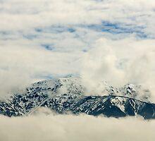 Seaward Kaikoura Range by Belinda Osgood