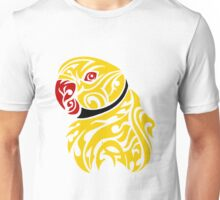 Lutino ringneck parrot tattoo Unisex T-Shirt
