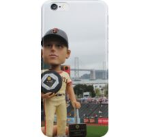 Buster Posey MVP at AT&T Park iPhone Case/Skin