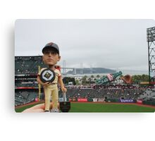 Buster Posey MVP at AT&T Park Canvas Print