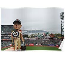 Buster Posey MVP at AT&T Park Poster