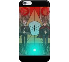 Enjoy the Calm before the Storm iPhone Case/Skin