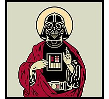 Father Vader Photographic Print