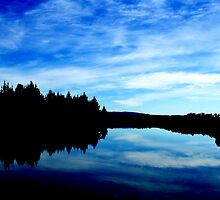 Blue Reflections by Belinda Osgood