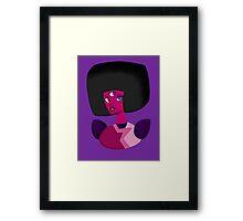 Garnet Bust Framed Print