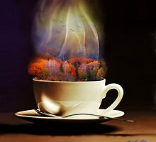 Cup of Autumn by Art Dream Studio