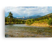 Holback river vista Canvas Print