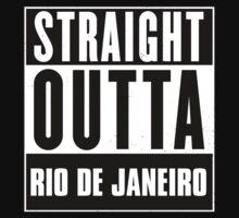 Straight outta Rio de Janeiro! T-Shirt