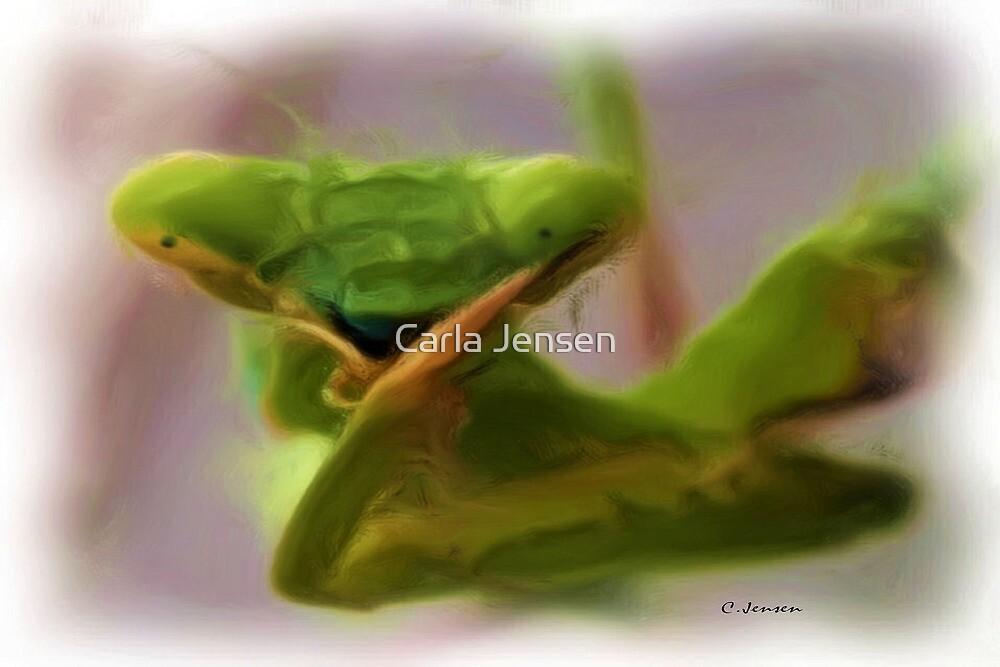 Praying Mantis by Carla Jensen