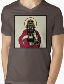 Father Vader Mens V-Neck T-Shirt