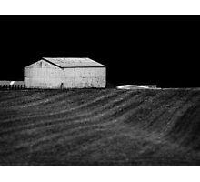 Grange rouge Photographic Print