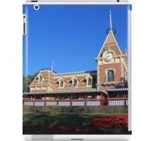 Disneyland Main Street Train Station iPad Case/Skin