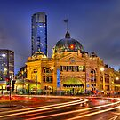 Flinders Street Station by Alex Stojan