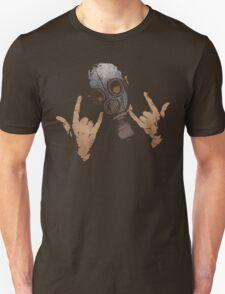 Devil Horns (Colour Version) Unisex T-Shirt