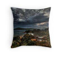 Fingal Storm Throw Pillow