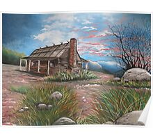 Sunset in the High Country Poster