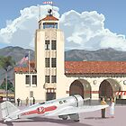 Grand Central Airport - Glendale, Los Angeles, 1931 by contourcreative