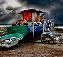 The Old Houseboat by Tarrby
