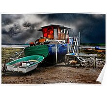 The Old Houseboat Poster