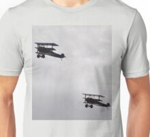 Avalon Airshow 2015 - Fokker Triplane Formation Flyover Unisex T-Shirt