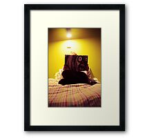 me, my room & mighty boosh Framed Print