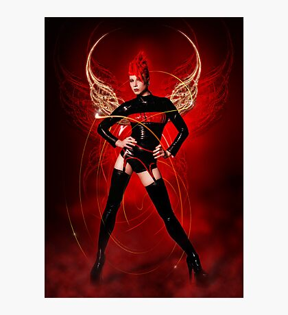 Dark Angel II UPDATED Photographic Print
