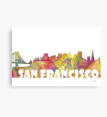 SAN FRANCISCO SKYLINE - MCLR Canvas Print