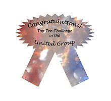 United Group Top Ten Banner Photographic Print