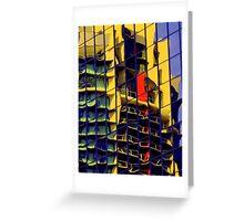 Facade reflections  Greeting Card