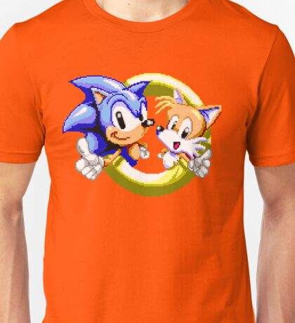 Sonic the Hedgehog - SEGA Genesis Sprite Unisex T-Shirt