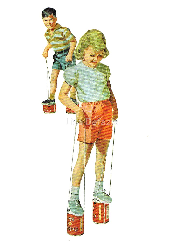 The Simple Life : Tin Can Stilts by Lisa Defazio