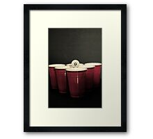 BeerPong 2nd round! Framed Print