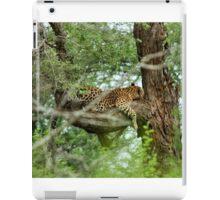 COMFORT ZONE? -  THE LEOPARD – Panthera pardus iPad Case/Skin