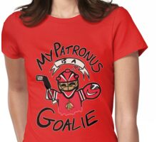 My Patronus is a Goalie (CHI Edition) Womens Fitted T-Shirt