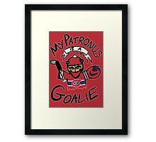 My Patronus is a Goalie (MTL Edition) Framed Print