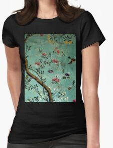 Tranquil Garden Womens Fitted T-Shirt