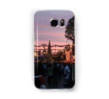 Disneyland Main Street at Christmas Samsung Galaxy Case/Skin