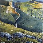 Peveril Castle, Castleton by Sue Nichol
