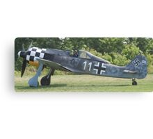 Focke Wolf FW-190 Canvas Print