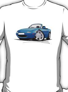 Mazda MX5 (Mk1) Blue T-Shirt