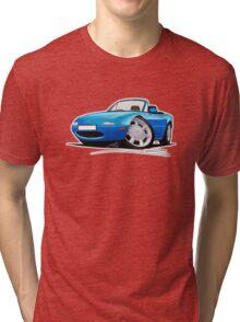 Mazda MX5 (Mk1) Blue Tri-blend T-Shirt