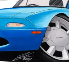 Mazda MX5 (Mk1) Blue Sticker