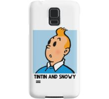 Tintin and Snowy: The Reality Samsung Galaxy Case/Skin