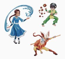 Aang The Last Airbender Stickers by Dacdacgirl
