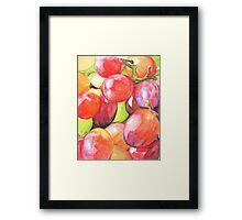 Grapey Bunch Framed Print