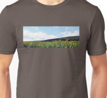 A Field of Sunflowers in Pennsylvania Unisex T-Shirt