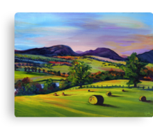 Highland Autumn Canvas Print