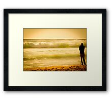 surf photog  Framed Print