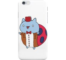 Cat Bug as the 11th Doctor iPhone Case/Skin